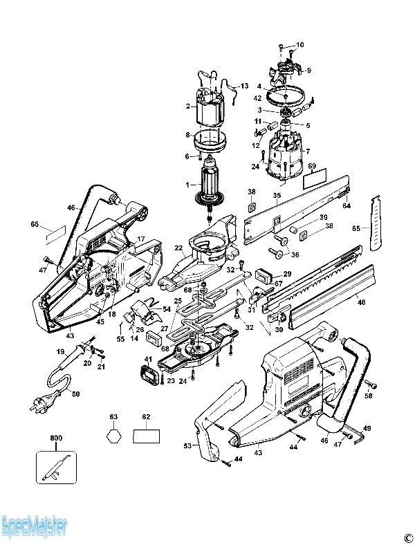Dewalt Dc720 Schematics
